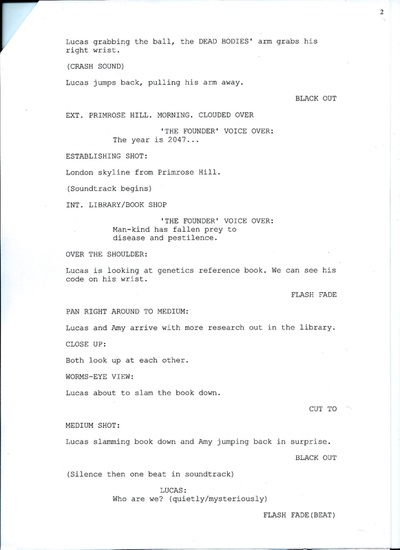 Storyboard and Script - My Portfolio